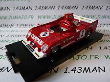 voiture 1/43 BRUMM boite rigide : ALFA ROMEO 33TT12 1000 km Spa 1975 Pescarolo