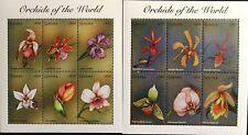 GHANA 1998 2777-88 Block 352-53 Orchideen Orchids Blumen Flowers Flora MNH
