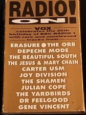Vox Magazine - Radio On! - Cassette Tape - BBC Radio 1  25th Anniversary