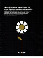 Publicité Advertising 011  2016  les dosettes café Nespresso *