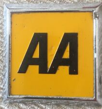 vintage Square AA car badge