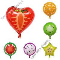 Fruit Shape Foil Balloons Large High Quality birthdays Wedding Easter