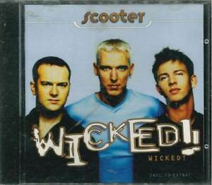 """SCOOTER """"Wicked!"""" CD-Album"""