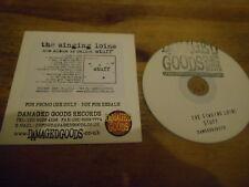 CD Punk Singing Loins - Stuff (12 Song) Promo DAMAGED GOODS cb