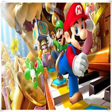 500 piece Super Mario Bros Wooden Framless Puzzle Toy DIY Mario Jigsaw Puzzles