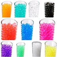 500 Water Aqua Soil Crystals Bio Gel Ball Beads Wedding Vase Filler Centrepiece