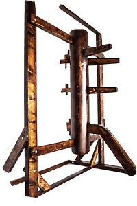 Wing Chun Wooden Dummy (von dummymaker) mit Rahmen und Legs(NEU)