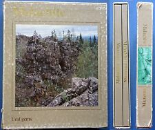 1987 Russian Soviet Books Malachite Ural gems in 2 volumes Stone Illustrated