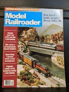 MODEL RAILROADER October 1990