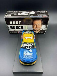 2019 Star Nursery Diecast autographed by NASCAR Cup Series Driver #1 Kurt Busch