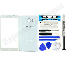 Oem Grade White Samsung Galaxy Note 5 Replacement Front & Back Glass Repair Kit