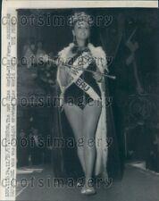 1967 Miss Peru Wins Miss World XVII Press Photo