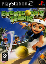 Ps2 Everybody's Tennis Sony PlayStation 2 Instruction Game 24hr Post