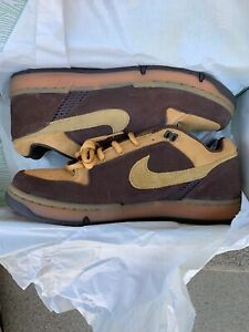 2003 Nike Air Zoom Angus Size 9.5 Maple/Baroque Brown 307247 222