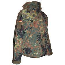 Bundeswehr Nässeschutzjacke Größe 1 S GORE-TEX BUND Regenjacke Flecktarn 5FTD BW