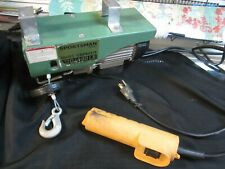 Sportsman Series EHOISTUL 440 lbs. Lift Electric Hoist w Wired Remote Controls