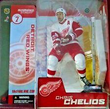 2004 McFarlane Hockey NHL Series 7 Chris Chelios Red Wings Variant #114