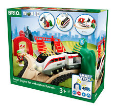 Holzeisenbahn Zug smart Tech Reisezug-set BRIO 33873