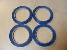 4 ROLLOS DE Azul Mochila Selladora CINTA PARA CUELLO máquinas (9mm x 66m) -
