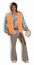 Mens 60's Singer Costume 70's Costume Hippie Disco Adult Size Standard