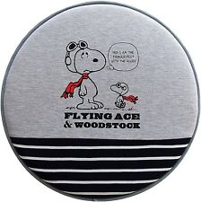 JDM Peanuts Snoopy flying Ace car accessory cushion seat mat wheel cover 2 piece