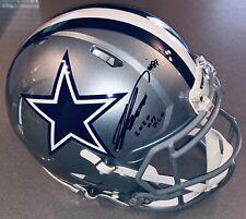 CeeDee Lamb Dallas Cowboys Autograph Riddell Speed Authentic F/S Helmet FANATICS