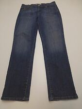 Levis 505 Womens Size 10S Straight Leg Blue Jeans Great Condition
