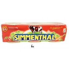 18x SIMMENTHAL beef meat in aspic 3x 140g 100% Italian meat