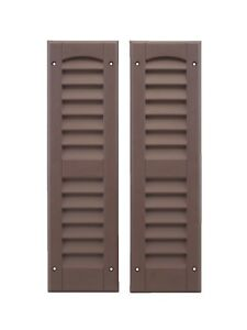"""Shed Shutters 6"""" x 21"""" One Pair  Playhouse Storage Sheds Garages Coops"""