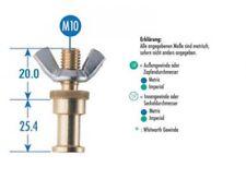 Manfrotto XMT002 Bolzen (264) M10/20mm Zapfen für Superclamp Spigot Super Clamp