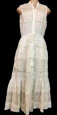 Sea Dress Baja Lace Button White Dress NWT  Size 0