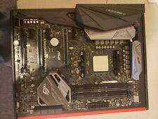 Asus crosshair hero 6 motherboard and Amd Ryzen 2700x cpu