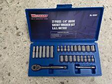 Westward Socket Wrench Set