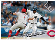 2017 Topps Now #392 FIRST REDS TRIPLE PLAY SINCE 1995 - CINCINNATI REDS