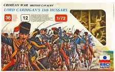 ESCI ERTL # 220 - 1/72 scale Crimean War British Cavalry - mint boxed set
