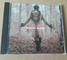 Victor Wooten CD What Did He Say