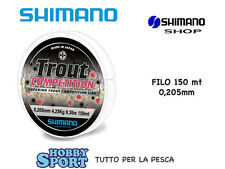 FILO SHIMANO TROUT COMPETITION 0,20 mm  X MULINELLO MT 150