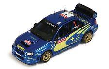 1:43 Subaru Impreza WRC Winner Wales Rallye 2004 IXO RAM156 P.Solberg - P.Mills