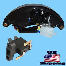 Honda Voltage Regulator & Carbon Brush for EM3800SX EM5000SXK2 EM3500X AVR
