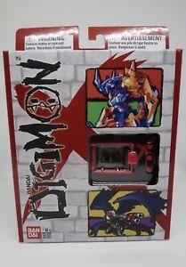 Digimon X Black And Red - Version XA - Virtual Pet - V-Pet Wargreymon And More!