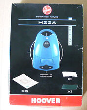H22A HOOVER 5 sacs pour aspirateur hoover MICROSPACE MICROPOWER