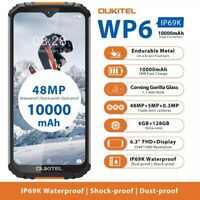 6.3'' OUKITEL WP6 10000mAh IP69K Waterproof Rugged Smartphone 6GB+128GB 16MP