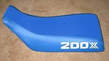 Honda ATC 200X 1984 through 1986 Blue Logo Seat Cover #csc44cgm65