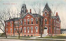 D19/ Boone Iowa Ia Postcard c1910 High School Building