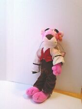 "15"" The Pink Panther Plush Doll ""Rising Star"" in Costume"