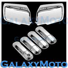 06-10 FORD EXPLORER+SPORT TRAC Chrome Mirror+4 Door Handle W/O PSG Keyhole Cover