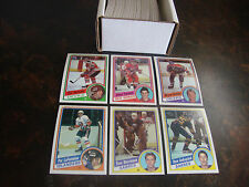 1984-85 Topps Hockey---Complete Set---1-165---Yzerman RC, Verbeek RC--NrMt-Mt