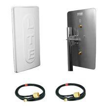 LTE Antenne Hochleistung 800MHz 2x15dBi 10M Speedport LTE II Telekom Vodafone Y