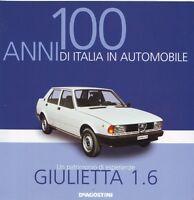Booklet ALFA ROMEO GIULIETTA rare 30 PAGES