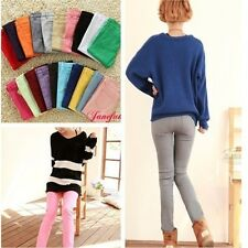 Women Candy Colour Pencil Pants Stretch Slim Fit Skinny Leggings Jeans Trousers